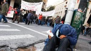 Kriz Avrupalıları hızla yoksullaştırıyor